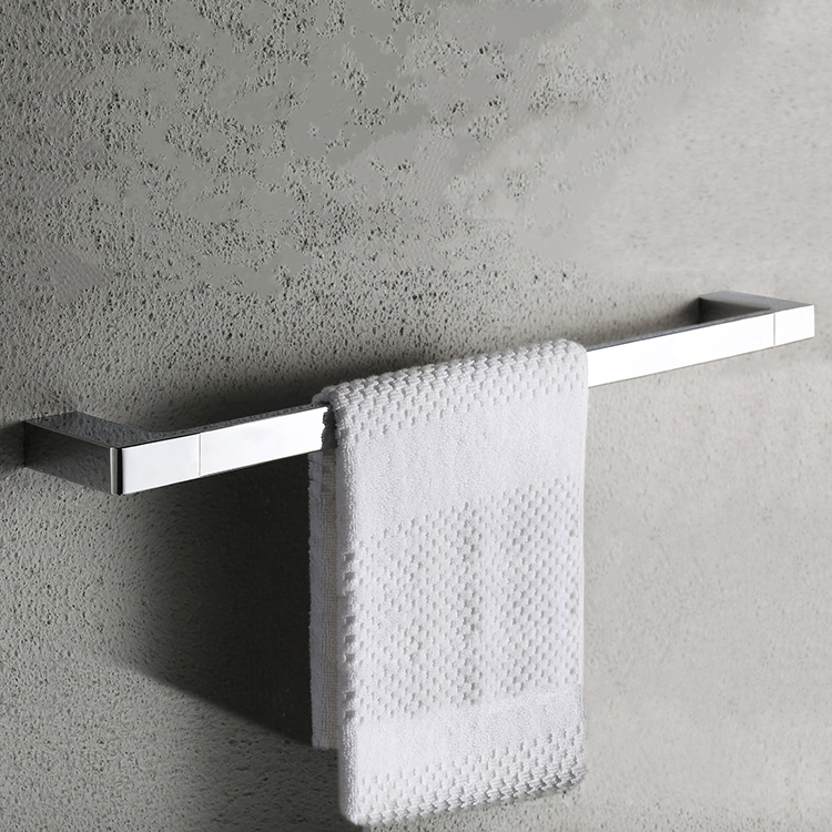 Towel Bar, Nameeks NFA017, 24 Inch Modern Chrome Towel Bar