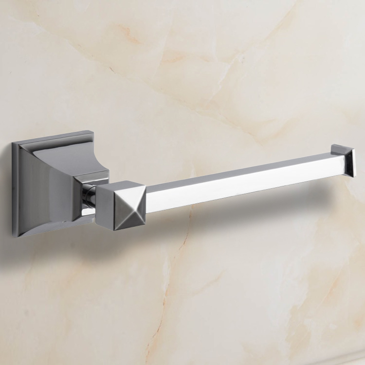 Toilet Paper Holder, Nameeks NCB06, Polished Chrome Toilet Paper Holder