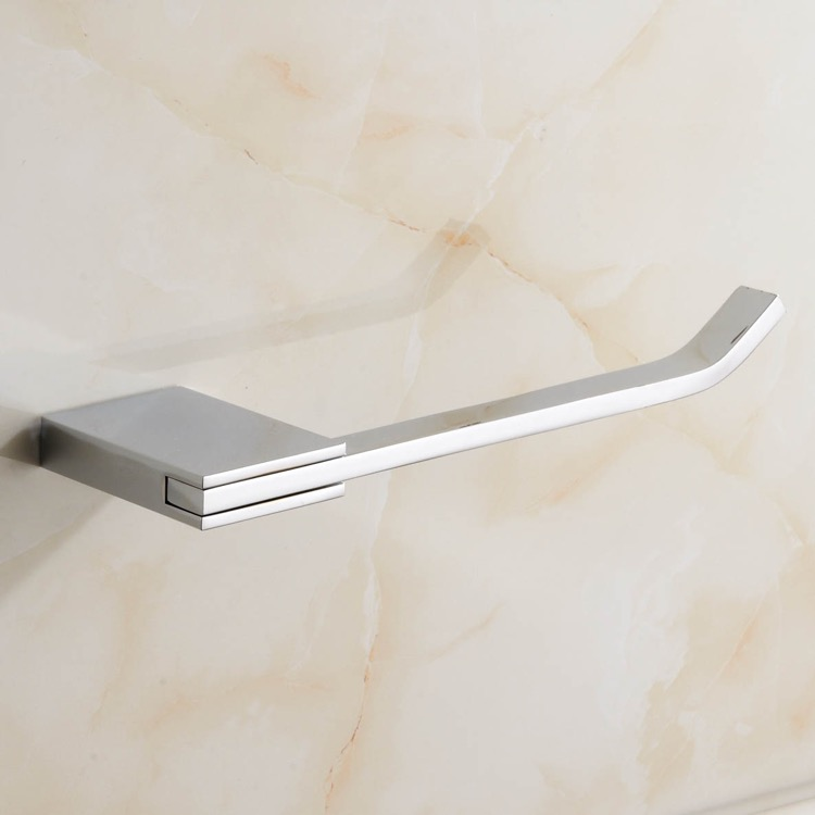 Toilet Paper Holder, Nameeks NCB35, Polished Chrome Toilet Paper Holder