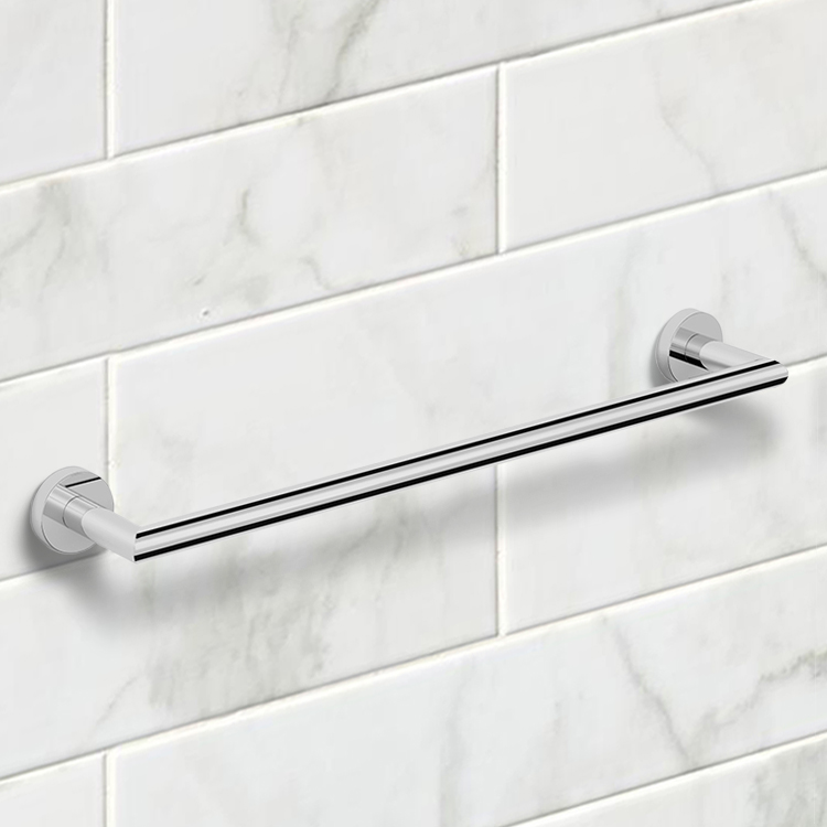 Towel Bar, Nameeks NNBL0037, 19 Inch Polished Chrome Towel Bar