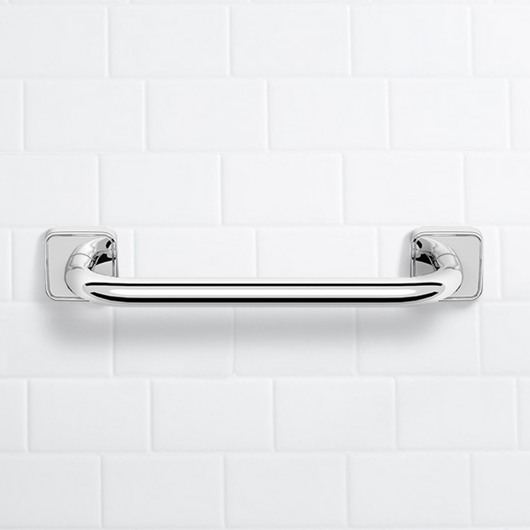 Grab Bar, Nameeks NNBL0047, 11 Inch Polished Chrome Grab Bar