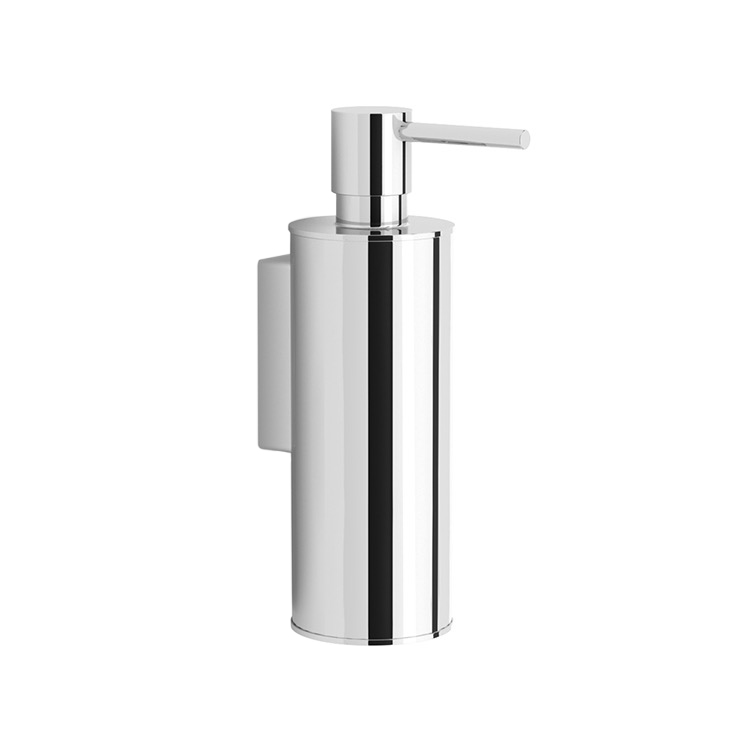 Soap Dispenser, Nameeks NNBL0049, Wall Mounted Polished Chrome Soap Dispenser