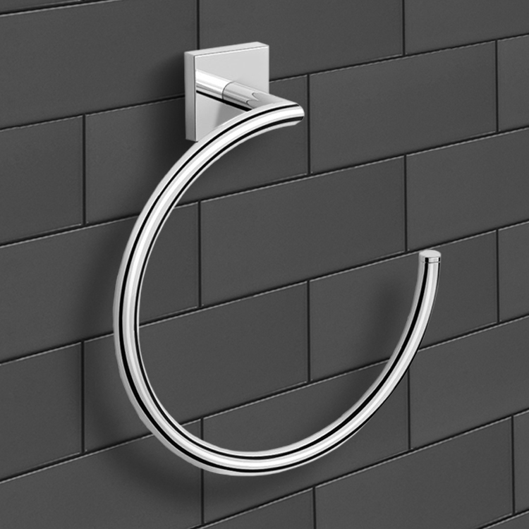 Towel Ring, Nameeks NNBL005, Polished Chrome Towel Ring
