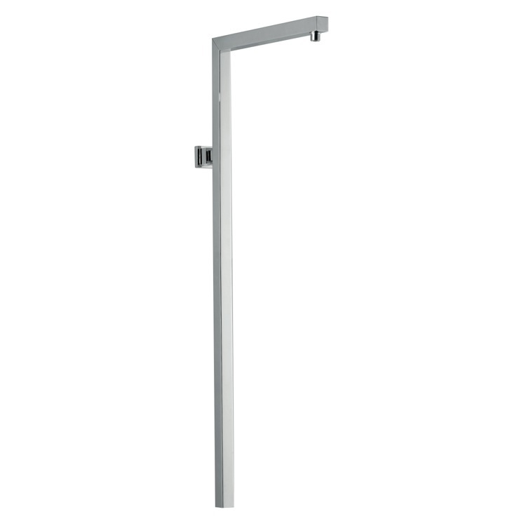 Shower Pipe, Remer 329S, Square Design Wall-Mounted Pipe