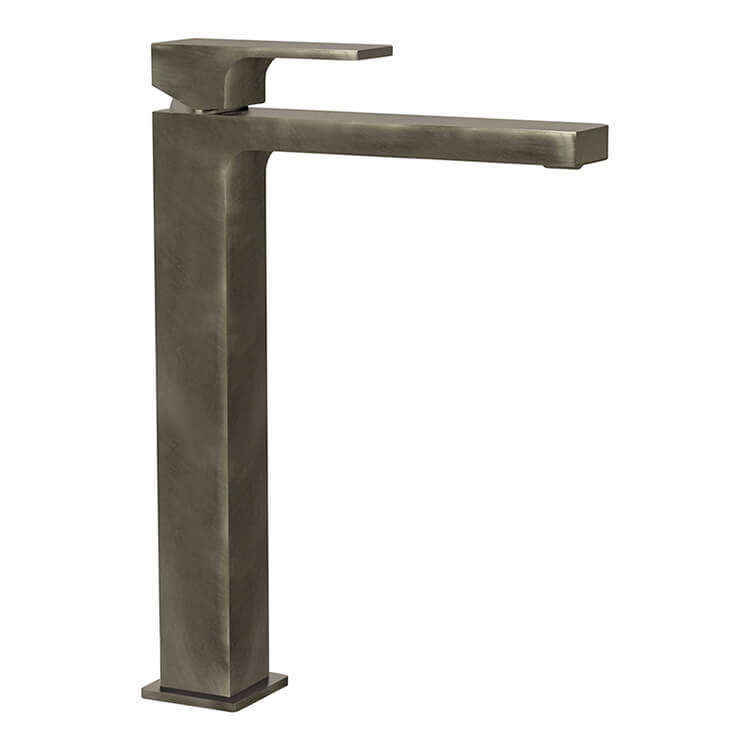 Bathroom Faucet, Remer AU10LUSNL-NB, Modern Vessel Sink Faucet in Brushed Nickel