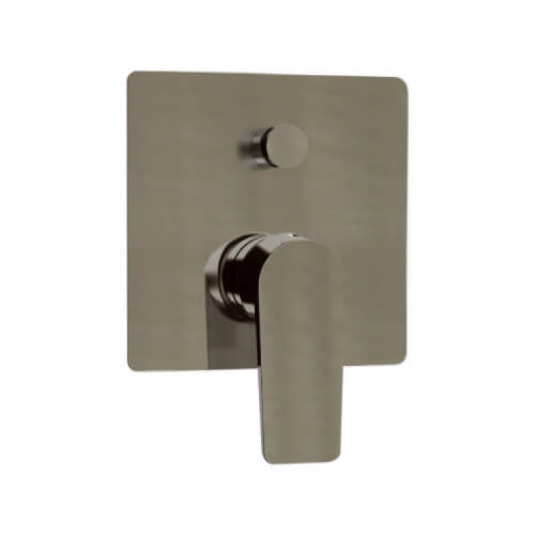 Diverter, Remer D09NP, Satin Nickel Wall Mounted Diverter