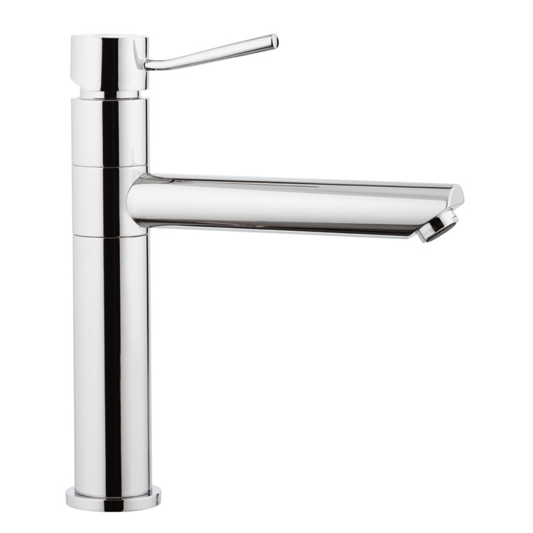 Bathroom Faucet, Remer N40, Chrome Single-Lever Sink Mixer With Movable Spout