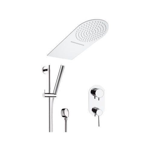 Shower Faucet, Remer N937S01UFMCA, Chrome Wall Mounted Shower Faucet