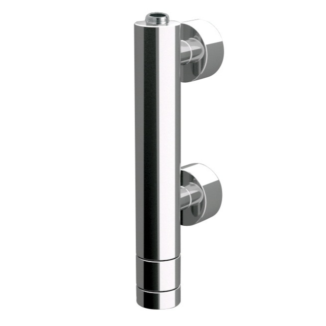 Mixer, Remer NT35VUS, Vertical Thermostatic Shower Mixer with Upper Connection