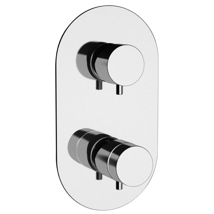 Diverter, Remer NT92US-CR, Thermostatic Two Way Shower Diverter
