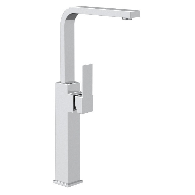 Bathroom Faucet, Remer Q11GLUS, Chrome Vessel Sink Faucet With Movable Spout