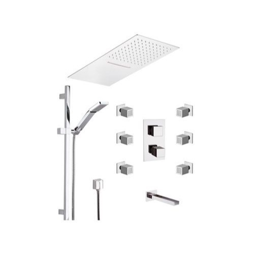 Tub and Shower Faucet, Remer QTC95S04UFCA, Chrome Wall Mounted Tub and Shower Faucet