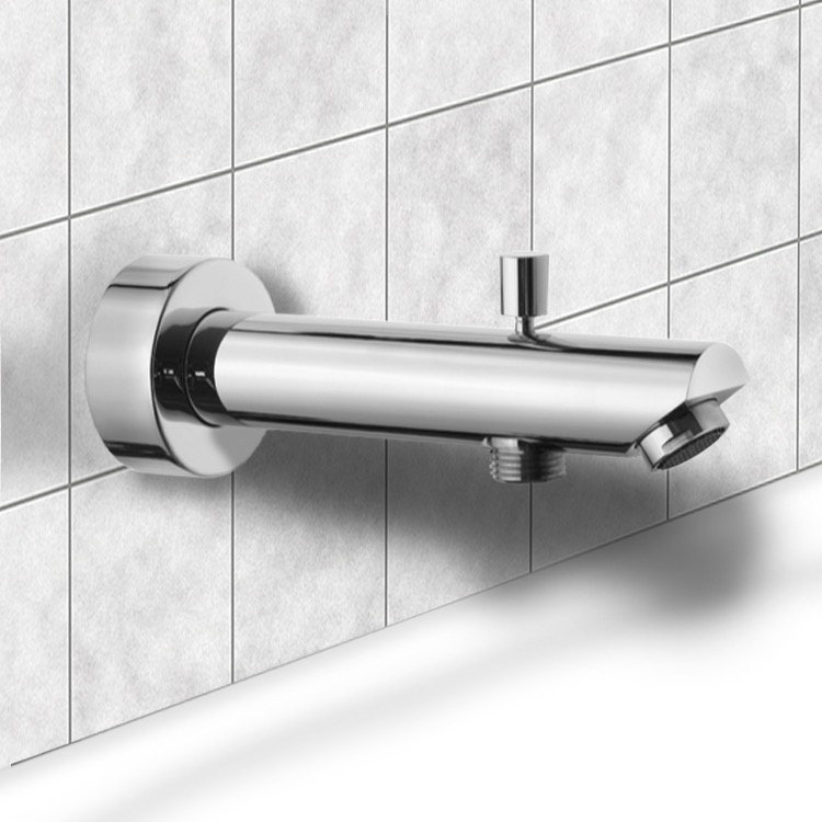 cosmopolitan with tub spout faucet eurosmart starlight com chrome from the grohe collection diverter