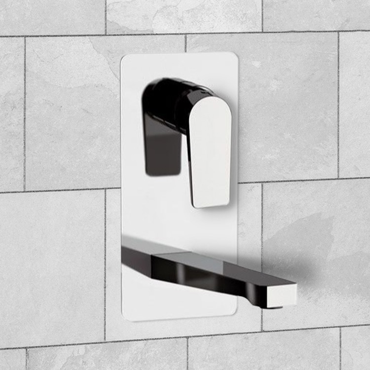 Bathroom Faucet, Remer D14, Wall Mounted Bathroom Faucet