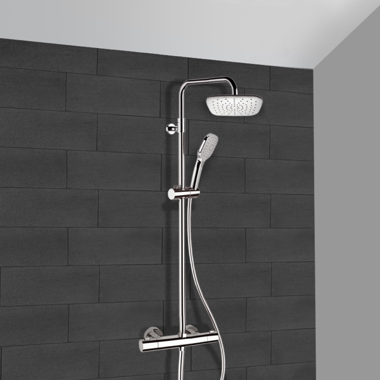 Remer SC500 Exposed Pipe Shower, Elegance - Nameek\'s