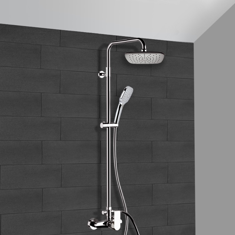 Remer SC514 Exposed Pipe Shower, Infinity - Nameek\'s