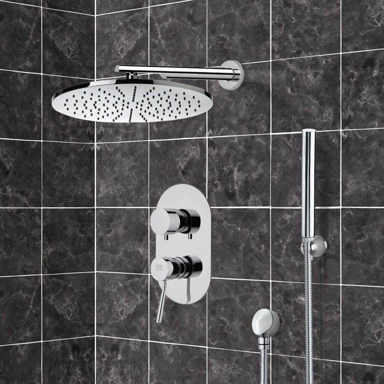 Shower Faucet, Remer SFH6502, Shower System with 12