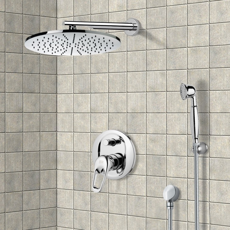 Shower Faucet, Remer SFH6503, Shower System with 12