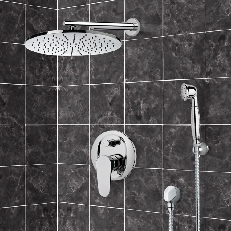 Shower Faucet, Remer SFH6504, Shower System with 12