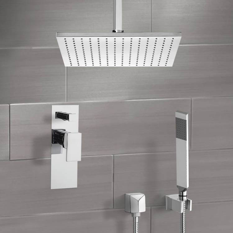 Shower Faucet, Remer SFH6506, Shower System with Ceiling 12