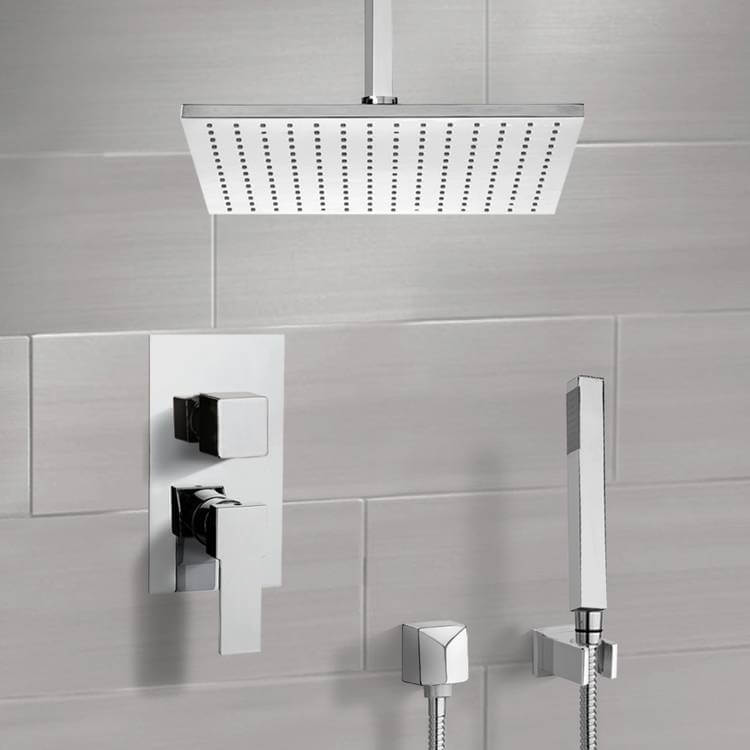 Shower Faucet, Remer SFH6507, Shower System with Ceiling 12
