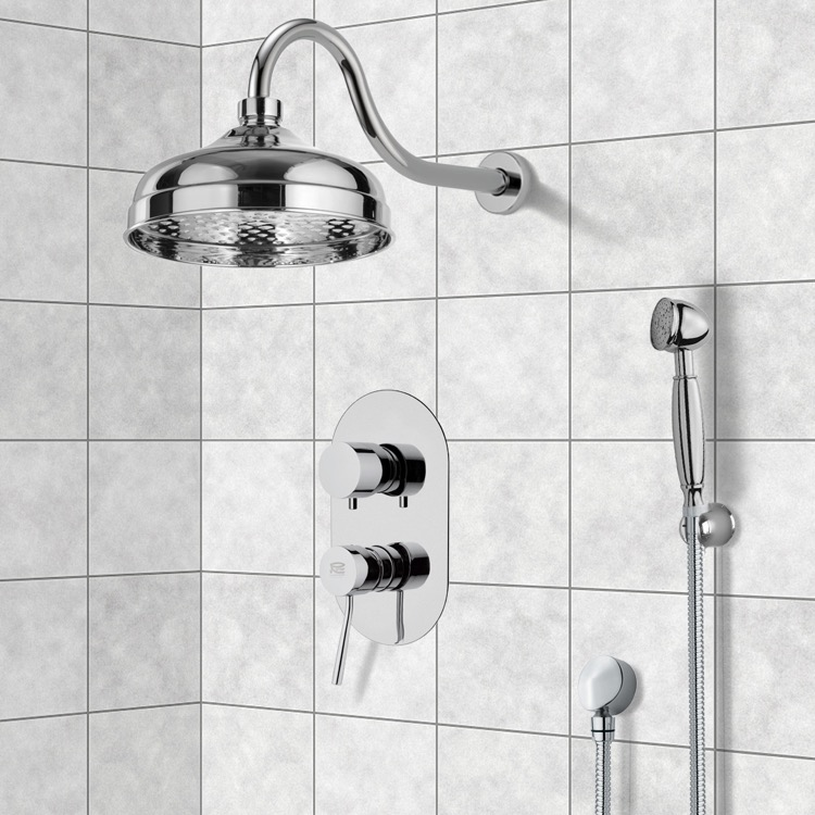Shower Faucet, Remer SFH6525, Shower System with 8