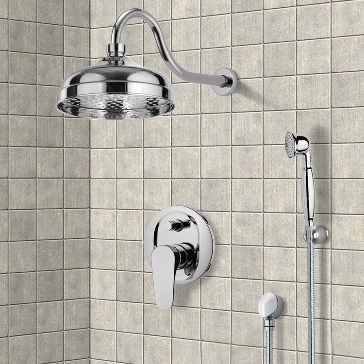 Shower Faucet, Remer SFH6526, Shower System with 8