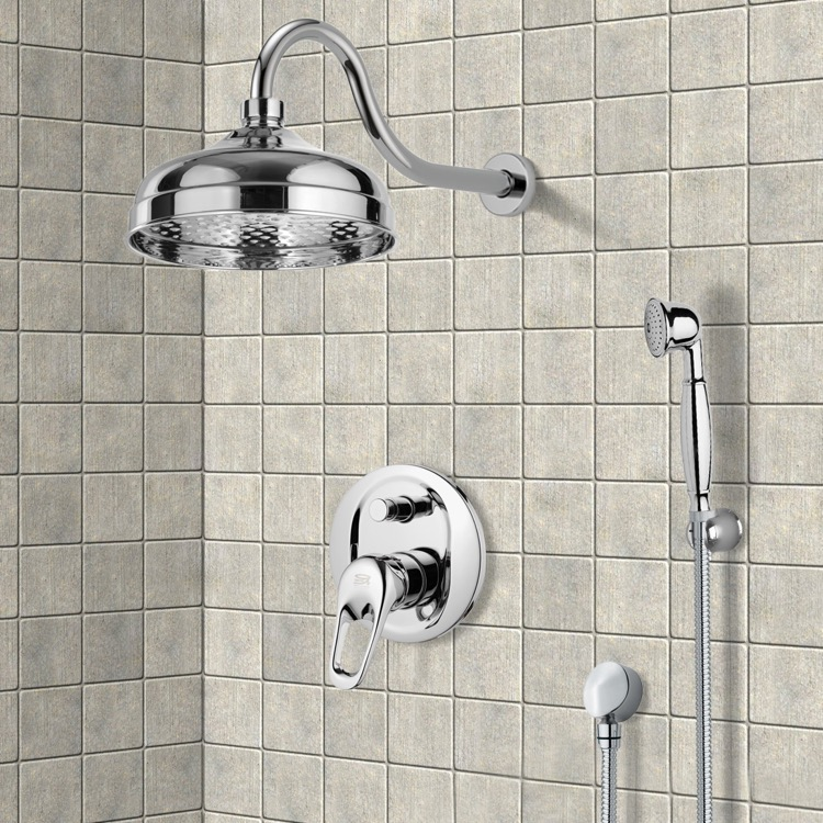 Shower Faucet, Remer SFH6527, Shower System with 8