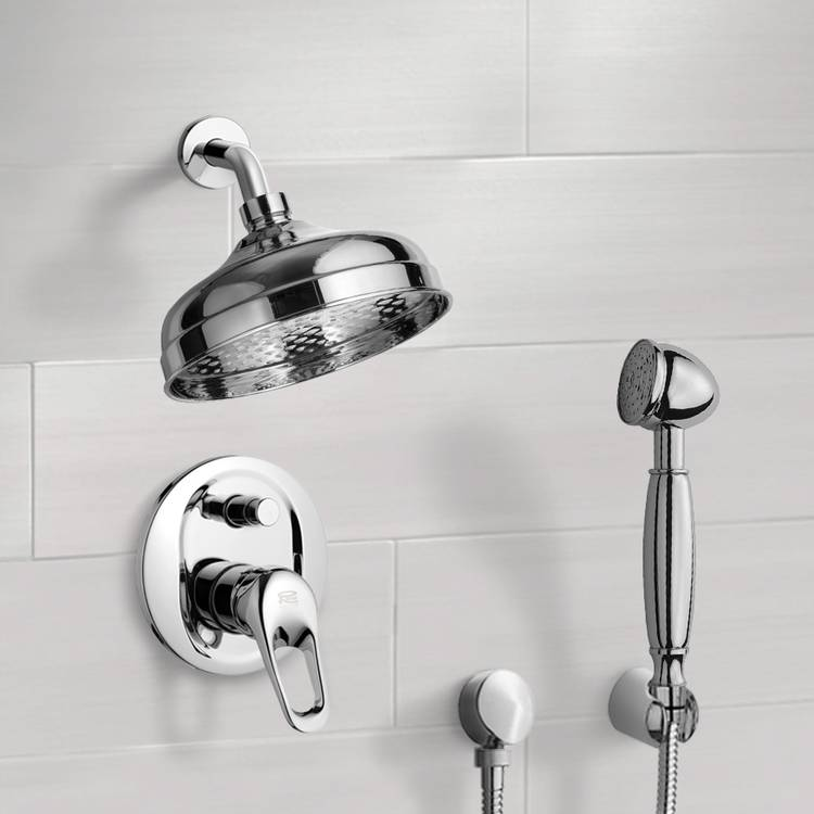 Shower Faucet, Remer SFH6528, Shower System with 8