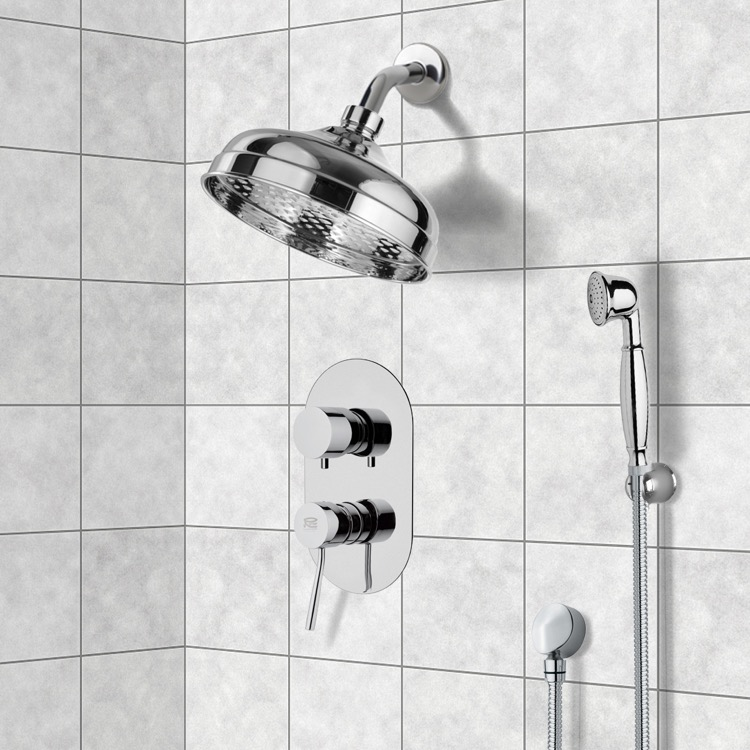 Shower Faucet, Remer SFH6530, Shower System with 8