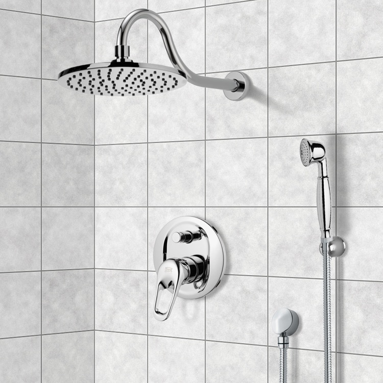 Shower Faucet, Remer SFH6535, Shower System with 8