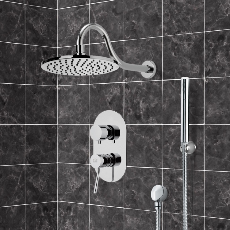 Shower Faucet, Remer SFH6536, Shower System with 8
