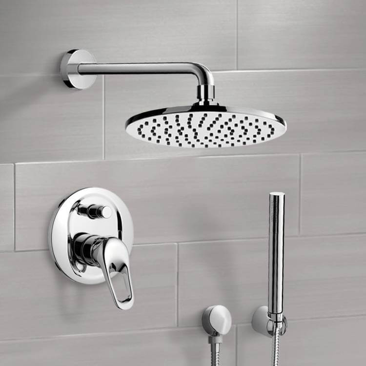 Shower Faucet, Remer SFH6539, Shower System with 8