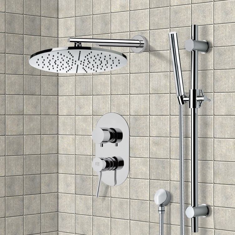 Shower Faucet, Remer SFR7502, Shower System with 12