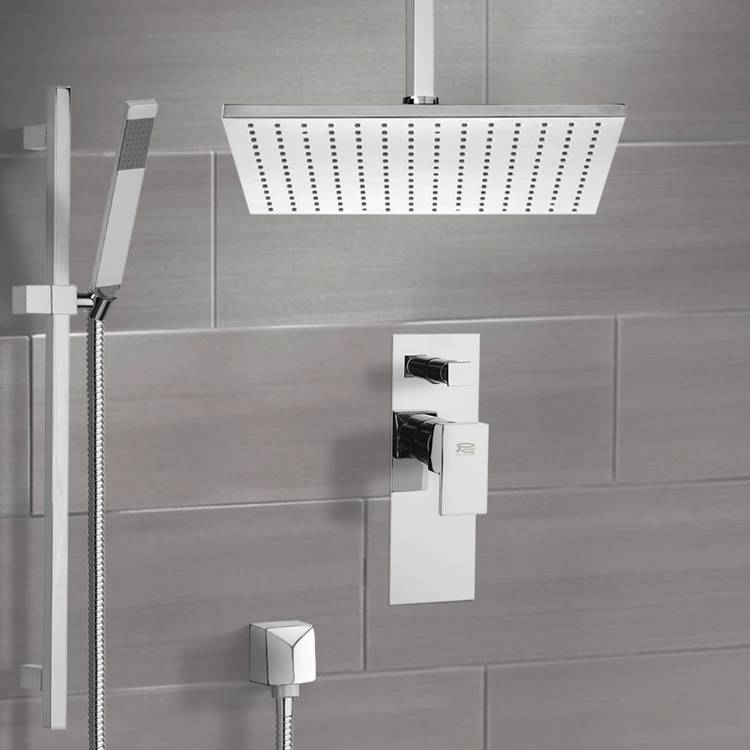 Shower Faucet, Remer SFR7506, Shower System with Ceiling 12