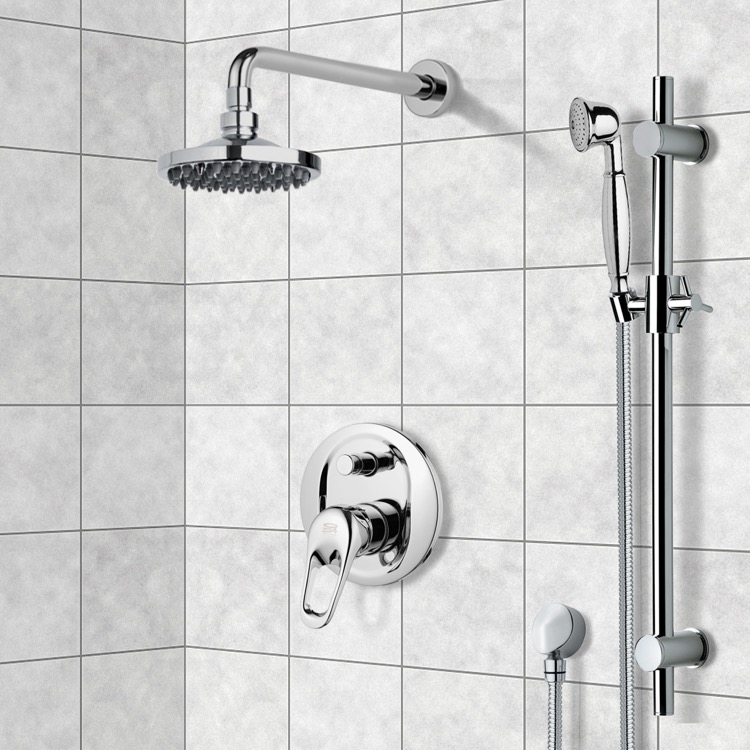 Shower Faucet, Remer SFR7533, Shower System with 6