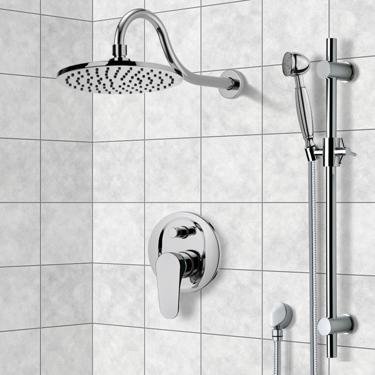 Shower Faucet, Remer SFR7534, Shower System with 8