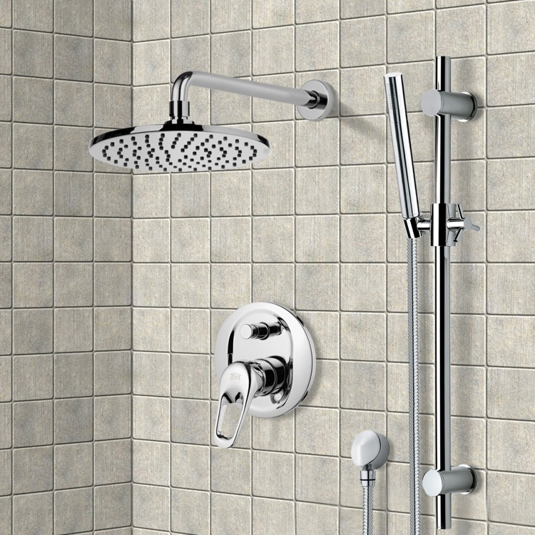 Shower Faucet, Remer SFR7539, Shower System with 8