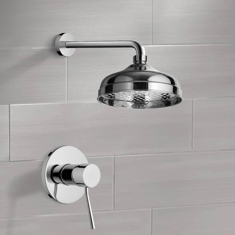 Shower Faucet, Remer SS1041, Shower Faucet Set with 8