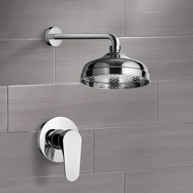 Shower Faucet, Remer SS1042, Shower Faucet Set with 8
