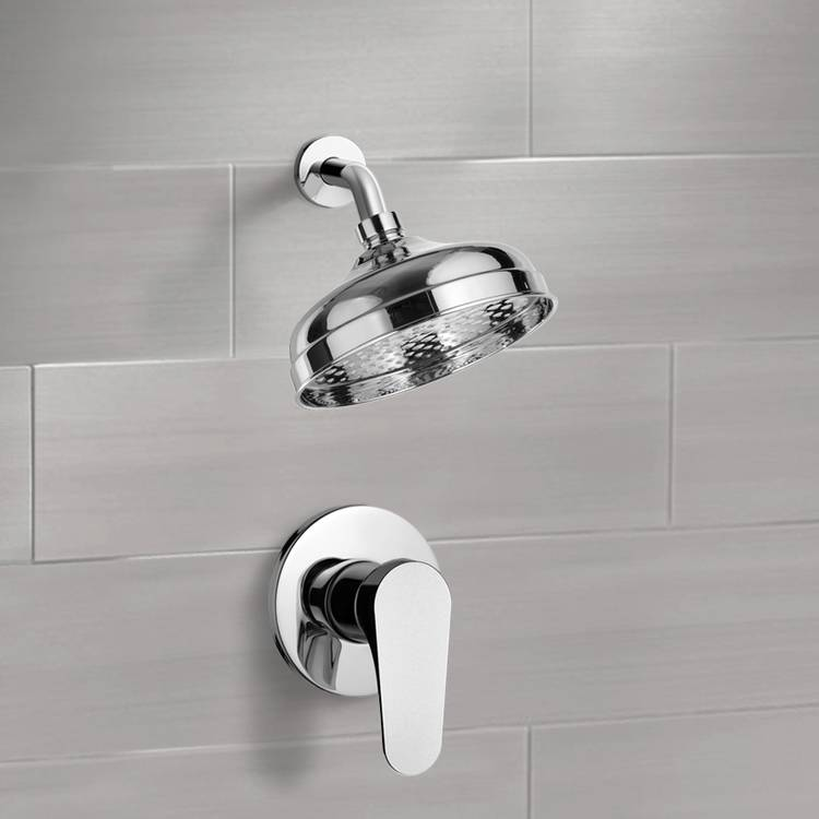 Shower Faucet, Remer SS1100, Shower Faucet Set with 8