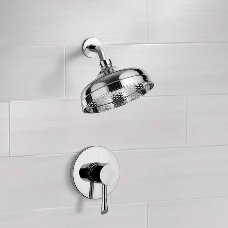 Shower Faucet, Remer SS1103, Shower Faucet Set with 8