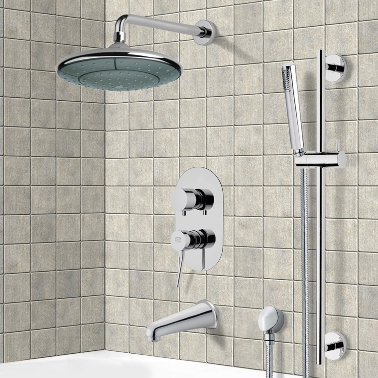 Remer TSR9032 Tub and Shower Faucet, Galiano - Nameek\'s
