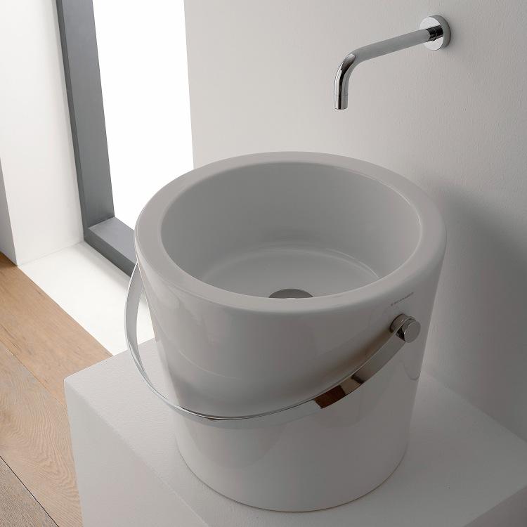 Scarabeo 8803 Bathroom Sink Bucket Nameek S