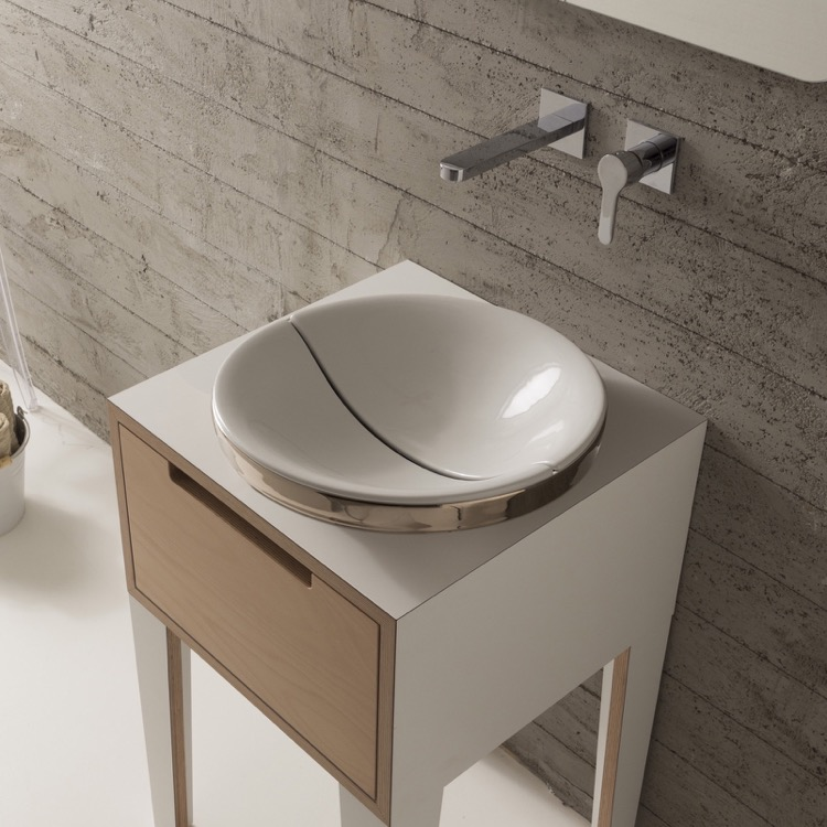 Scarabeo 9002 Bathroom Sink, Mizu