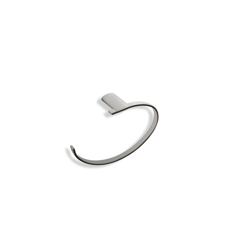 Towel Ring, StilHaus AR07-36, Satin Nickel Round Towel Ring