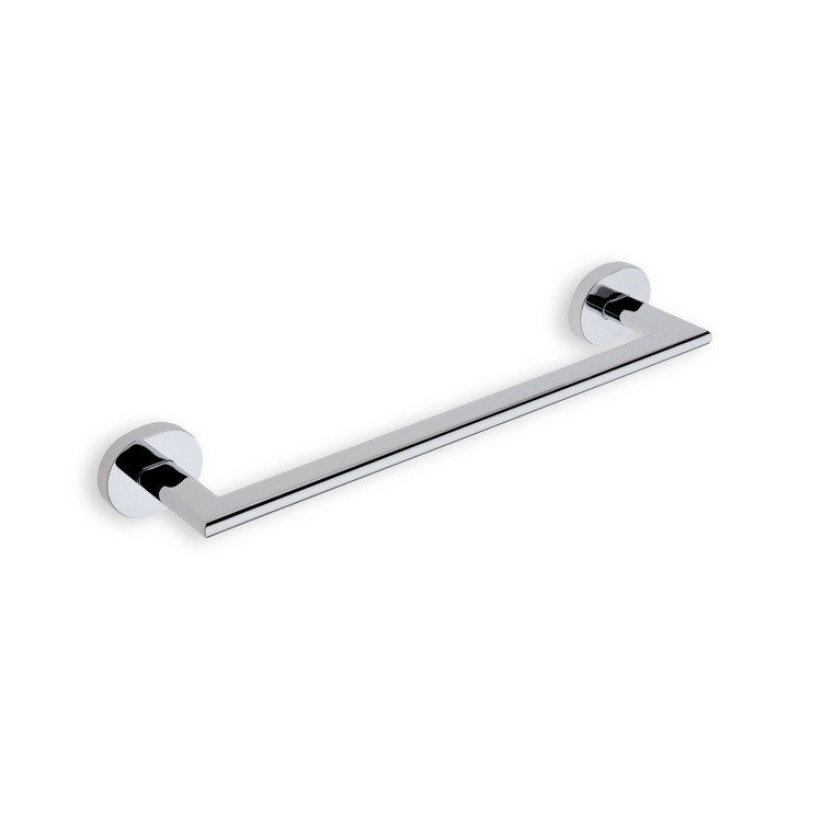 Towel Bar, StilHaus DI06, 13 Inch Chrome or Satin Nickel Towel Bar