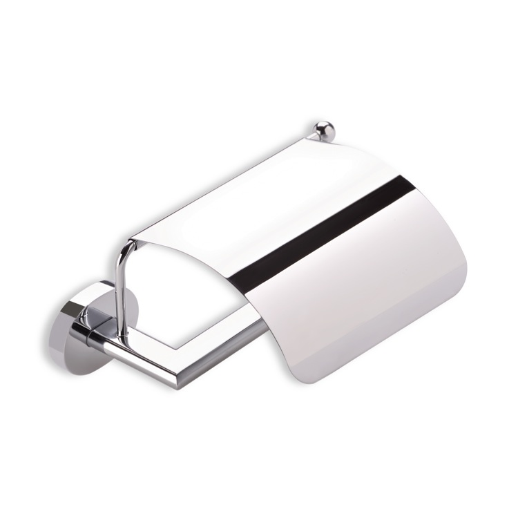 Toilet Paper Holder, StilHaus DI11C, Toilet Roll Holder with Cover
