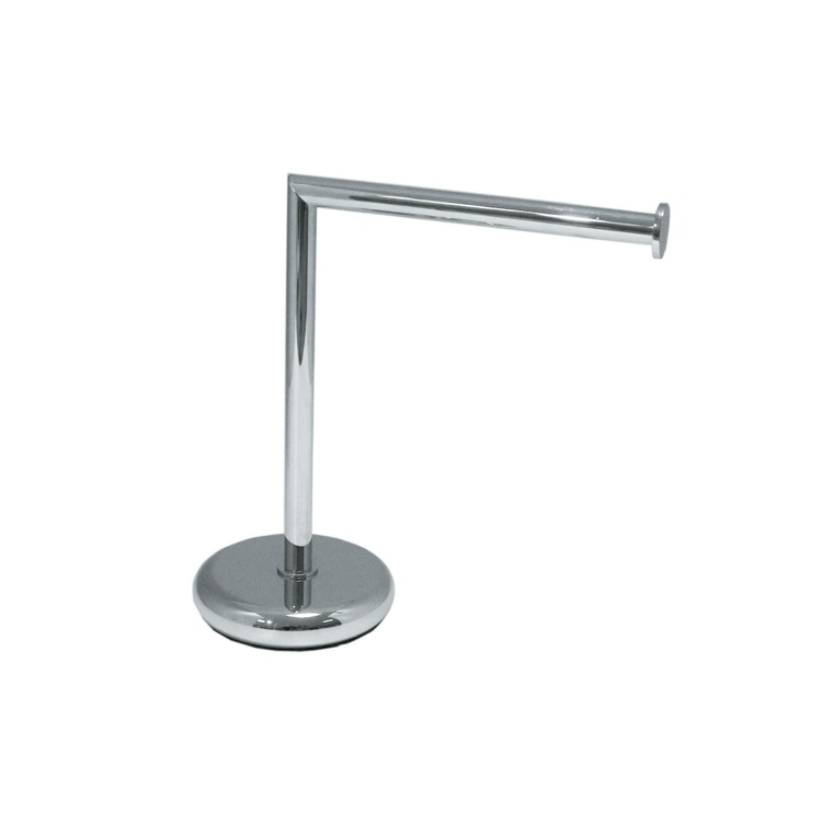 Towel Stand, StilHaus ME06 APP, Short Tabletop Brass Towel Stand