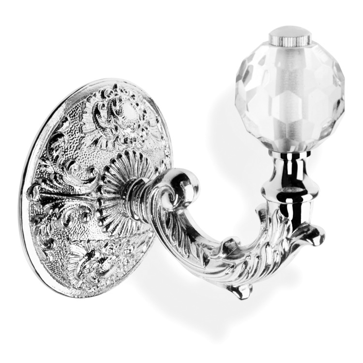 Bathroom Hook, StilHaus NT13V, Decorative Wall Mounted Bathroom Hook with Crystal Ball